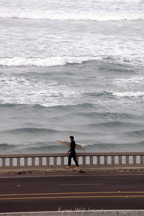 USA, California, Cardiff by the Sea.