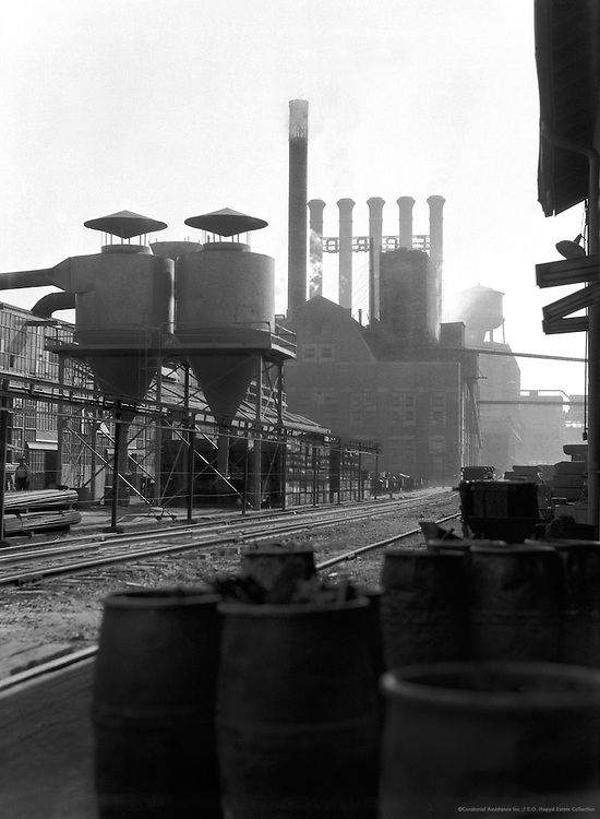 Barrels, Ford Factory, Detroit, Michigan, 1926