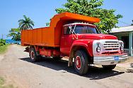 Truck in San Ramon, Granma Province, Cuba.
