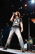 Chris Cornell performs at Projekt Revolution at Verizon Wireless Ampitheater in St. Louis, MO on August 21, 2008. © Christopher Owyoung