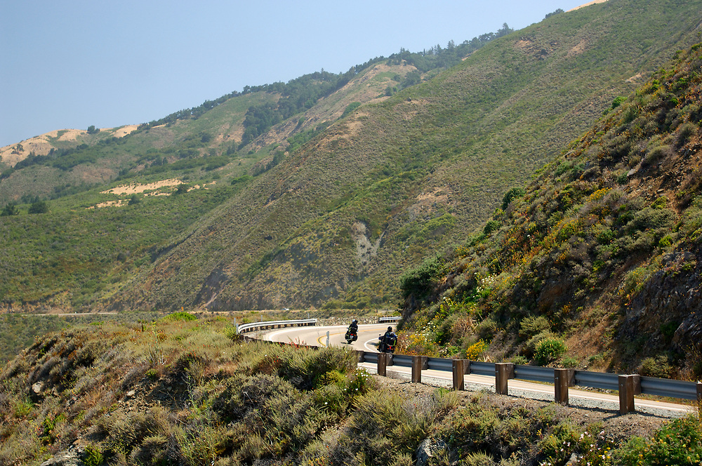 Highway, Big Sur Coast, Highway 1, Cabrillo Highway, south of Pfeiffer Big Sur, California, United States of America