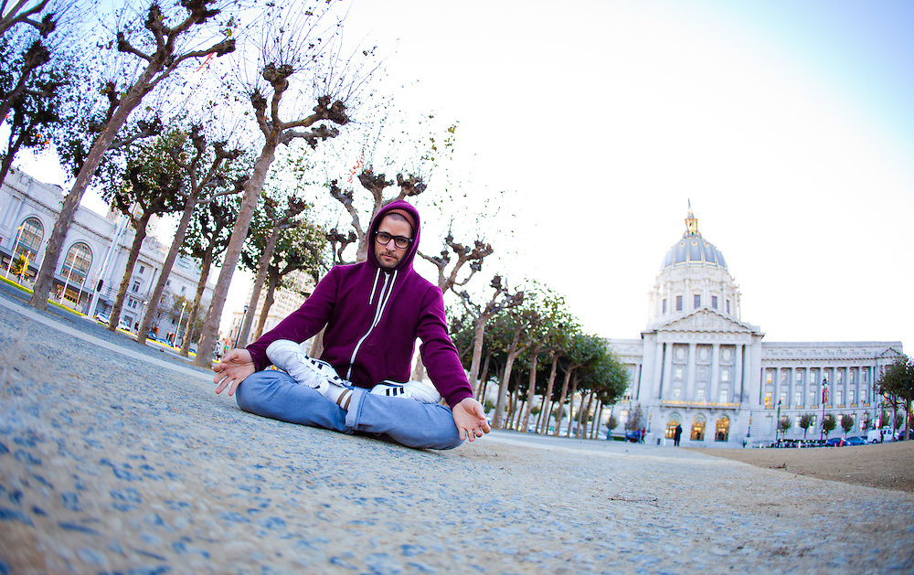 MC Yogi at the City Hall, San Francisco