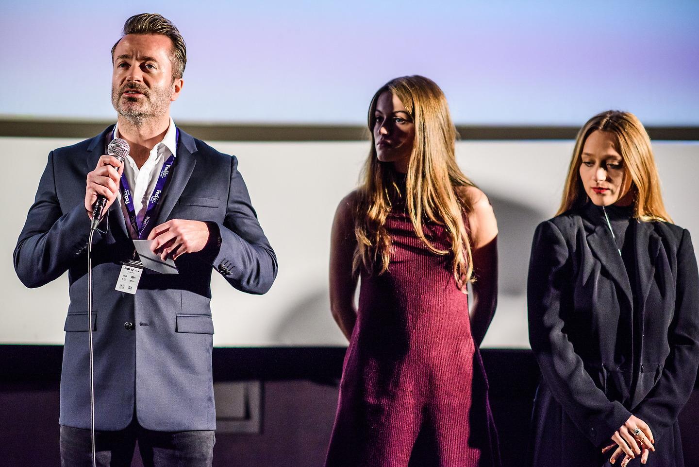 Film Fest Gent - Q&A Lauren McQueen, Brogan Ellis - David Moores - The Violators