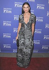 NOV 16 2014 Demi Moore at the Santa Barbara International Film Festival 2014
