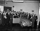 1958 - The first Volkswagen Beetle ever assembled outside of  Germany