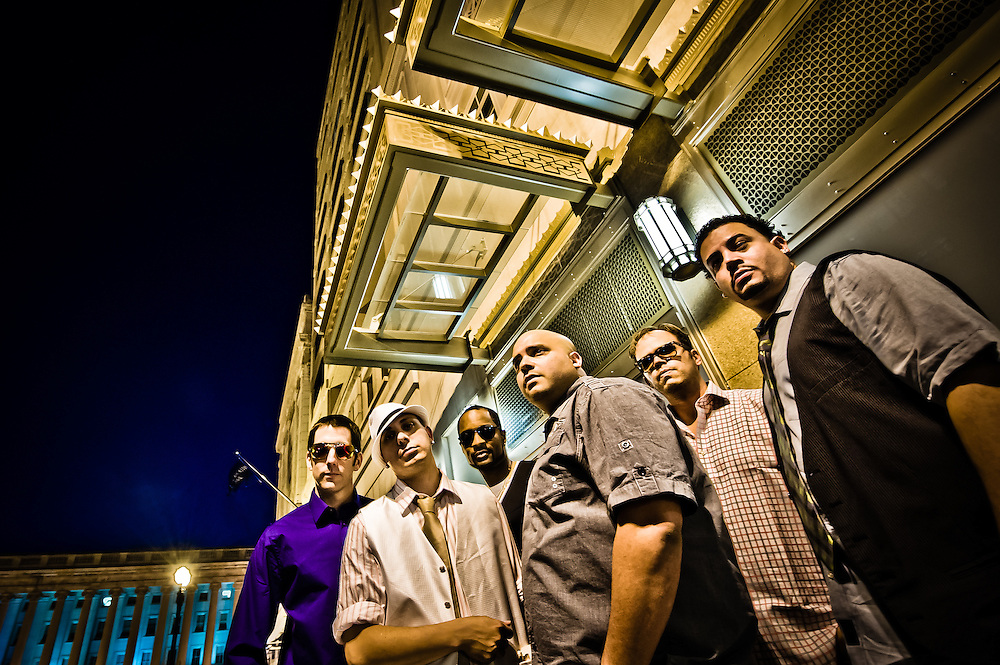 The Empresarios: (l-r) 
