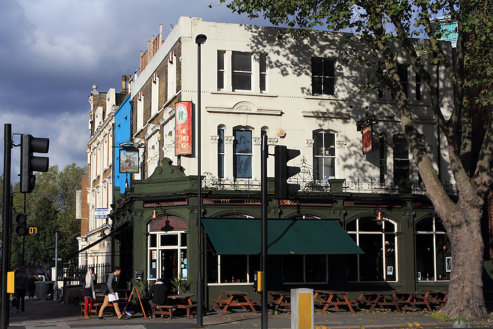 The Three Stags pub, opposite the Imperial War Museum in Kennington, South London