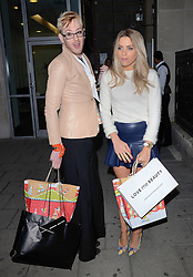 Lewis Duncan Weedon and Olivia Cox attend Cherry Edit Launch Party at Cafe Kuizen, Hanover Square, London on Wednesday 1 October 2014