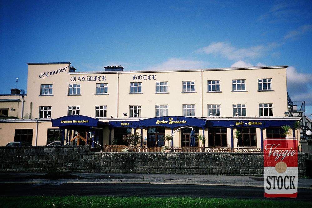 Hotel in Galway, Ireland, November 2009.