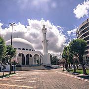The Omar Ibn Al-Khattab mosque in Foz do Iguacu-Khattab mosque in Foz do Iguacu, Brazil