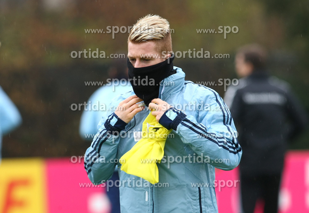 20.03.2013, Kleine Kampfbahn, Frankfurt, GER, FIFA WM Qualifikation, Training Deutschland, im Bild Marco Reus, Freisteller // during an practice session of German Footballteam // before the FIFA World Cup Qualifier at the Kleine Kampfbahn, Frankfurt, Germany on 2013/03/20. EXPA Pictures © 2013, PhotoCredit: EXPA/ Eibner/ Bildpressehaus..***** ATTENTION - OUT OF GER *****