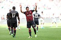 c - Milano - 09.04.2017 - Serie A 31a giornata  -  Milan-Palermo   - nella foto:  Carlos Bacca esulta dopo il gol del 3 a 0