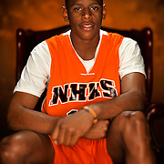 New Hanover Star senior Freddie Jackson who now plays point guard at University of North Carolina Wilmington UNCW.