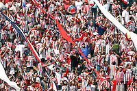 20 May 2007: Chivas fans celebrate a goal during a 1-1 tie for MLS Chivas USA vs. Los Angeles Galaxy pro soccer teams at the Home Depot Center in Carson, CA.
