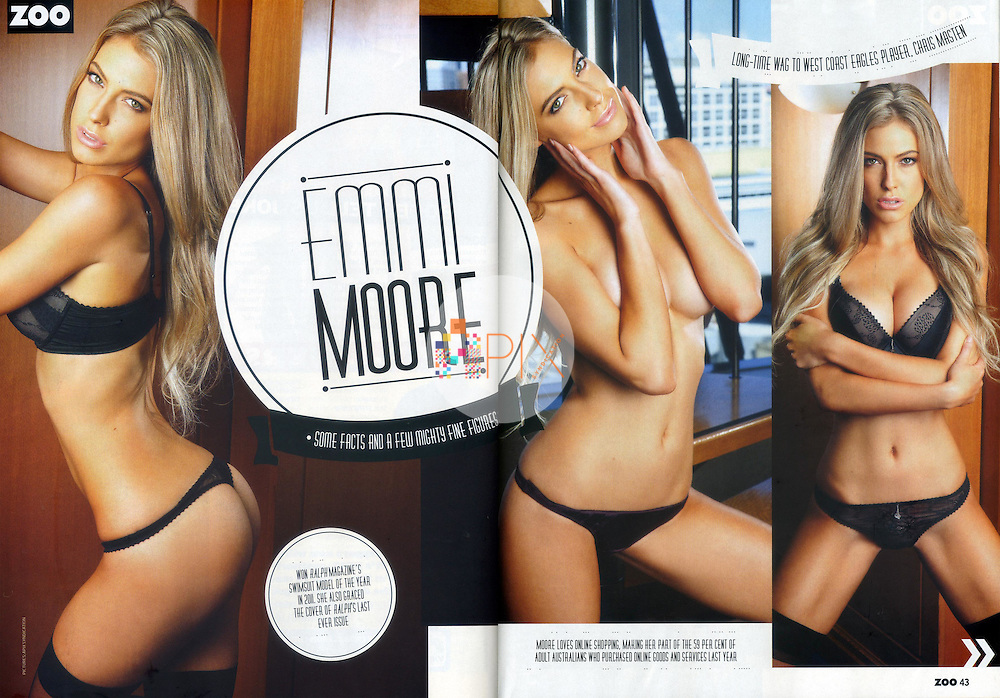 Emmi Moore in ZOO WEEKLY Australia :: August 2012
