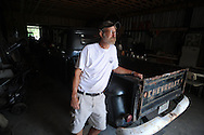 Bill Beckwith at his new studio under development in Taylor, Miss. on Tuesday, August 10, 2010.