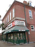 Crown Candy landmark restaurant, St. Louis, MO