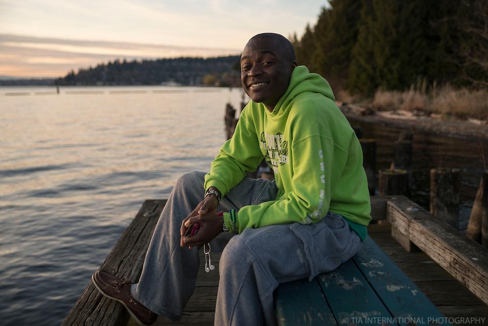 "LUBANDI (18/100):  ""Just enjoy this life."""