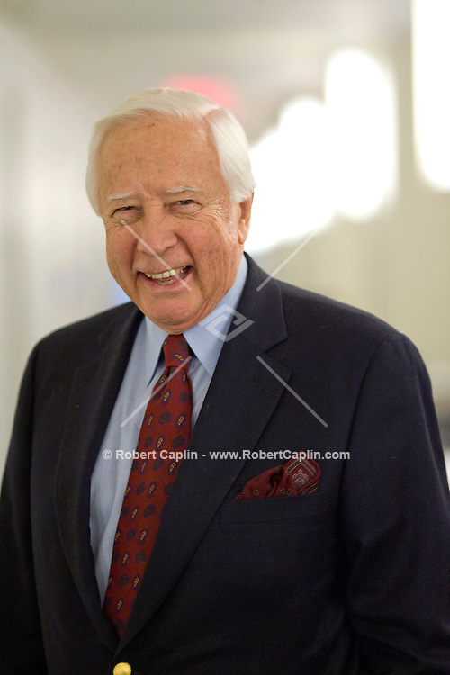 Author David McCullough poses for a portrait in the HBO building in New York.