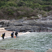 April 2009 Scuba Diving at Storms River Mouth, Tsitsikamma, Eastern Cape, South Africa