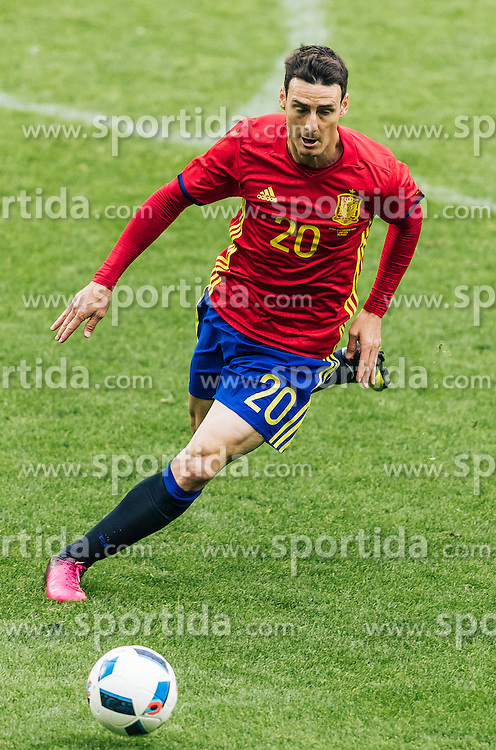 01.06.2016, Red Bull Arena, Salzburg, AUT, Testspiel, Spanien vs Suedkorea, im Bild Aritz Aduriz (ESP) // Aritz Aduriz of Spain during the International Friendly Match between Spain and South Korea at the Red Bull Arena in Salzburg, Austria on 2016/06/01. EXPA Pictures © 2016, PhotoCredit: EXPA/ JFK