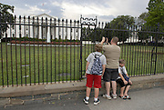 The White House in Washington D.C. on August 1, 2011.