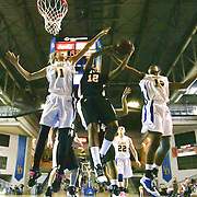 VCU (#12) Andrea Barbour scores 28 points during VCU delaware game at the The Bob Carpenter Center In Newark Delaware Thursday Night.
