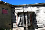House detail in La Bajada, Pinar del Rio, Cuba.