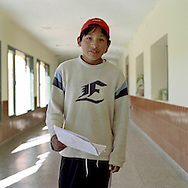 Kallpa Wayna a residential Home where help and support are provided for the education of kids from isolated indigenous.communities around La Puna. Abra Pampa, .Jujuy, Argentina...Photo©Amaya Roman/Workers Photos