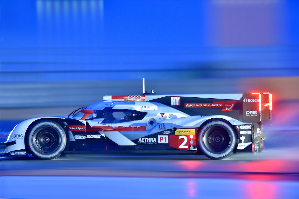 18-20 September 2014, Austin, Texas USA<br /> Circuit of the Americas FIA WEC winner 2 Audi R18 e-tron quattro Marcel F&Auml;SSLER, Andr&eacute; LOTTERER, Benoit TR&Eacute;LUYER<br /> &copy;2014, Scott R LePage <br /> LAT Photo USA