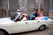 Quinceañera in Holguin, Cuba.