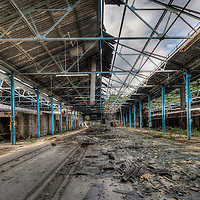 Abandoned factory in Sheffield