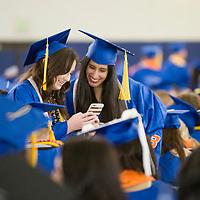 Spring Commencement, Graduation, Albertsons Stadium, Allison Corona photo.