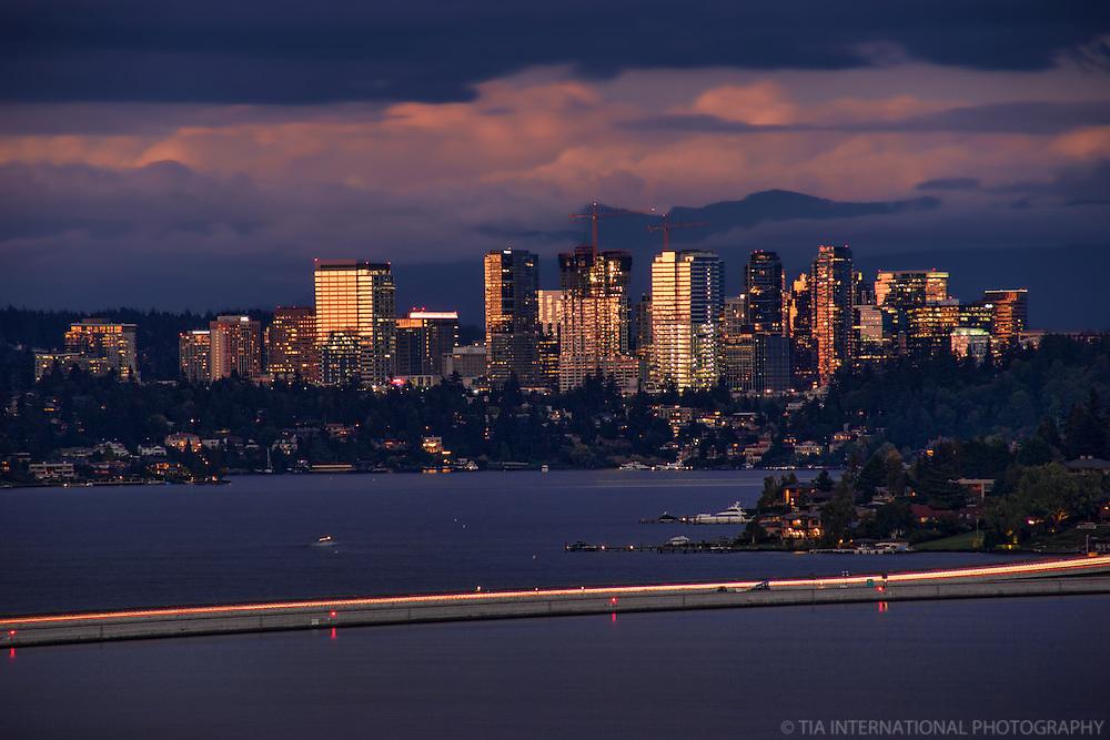 Downtown Bellevue @ Dusk