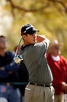 3 February 2007: Leader Jeff Quinney during the third round at the FBR Open in Phoenix, AZ. .