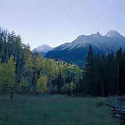 Colorado, San Juan Mountains, Mount Sneffels, Dallas Divide