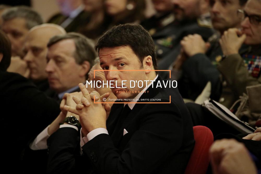 Matteo Renzi all'inaugurazione dell'anno accademico del Politecnico di Torino <br /> 18 febbraio 2015