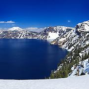 Mount Scott South Rim Edge View - Crater Lake