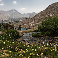 Sixty Lakes Basin, Sierra Nevada, California