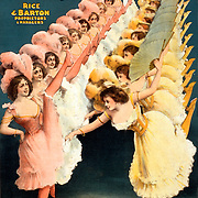The Gaiety Dancers; theater; stage; performers; entertainment