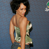 Melyssa Ford at Sprites Street Couture Showcase at Gustavino's on May 23, 2006.