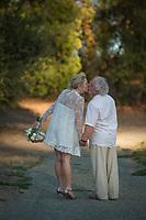 Van and Nicki's wedding in Calistoga, California