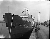 1962 - The Esso Preston delivering bitumen