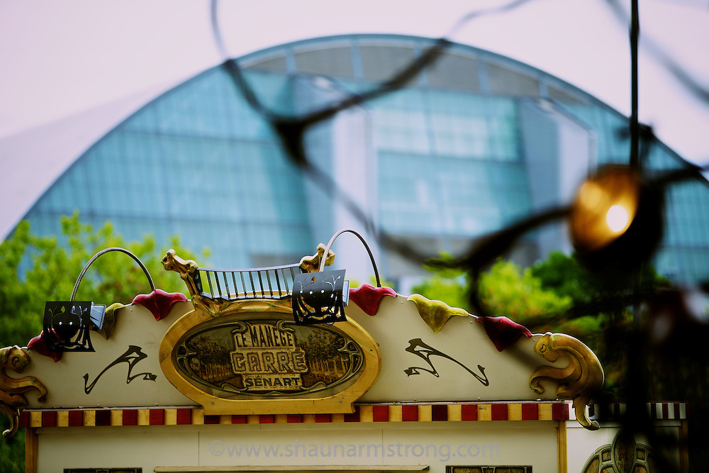 Creative producers Artichoke with Sky Arts present The Magical Menagerie fantasy carousel as part of the IF Milton Keynes International Festival in July 2010, built and designed by Francois Delaroziere.