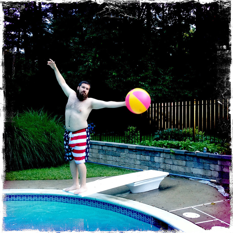 Photo by Matt Roth<br /> <br /> Pool Party at Harry's<br /> Ellicott City, Maryland on Sunday, July 07, 2013.