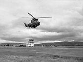 "1981 - Air Corps Takes Delivery Of New ""Puma"" Helicoptor.   (N86)."