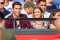 ROTTERDAM - Feyenoord - Valencia , Eredivisie, Voetbal, Seizoen 2016-2017, Feyenoord stadion de Kuip23-07-2016 , De nieuwe keeper van Feyenoord Brad Jones (l) zit al weer geblesseerd op de tribune