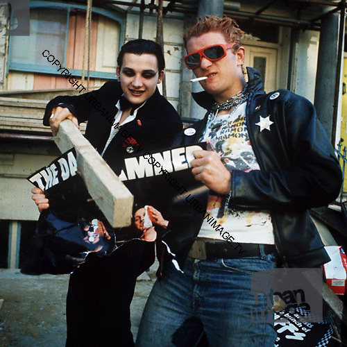 The Damned Alexander Street photosession.