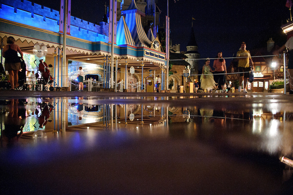 photo by Matt Roth.Tuesday, May 1, 2012..After forty-one-years, Disney World is closing the Snow White's Scary Adventure ride June 1st of this year.