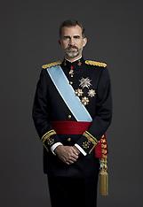 DEC 18 2014 King Felipe with military uniform in Madrid